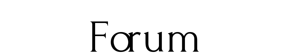 Forum Font Download Free